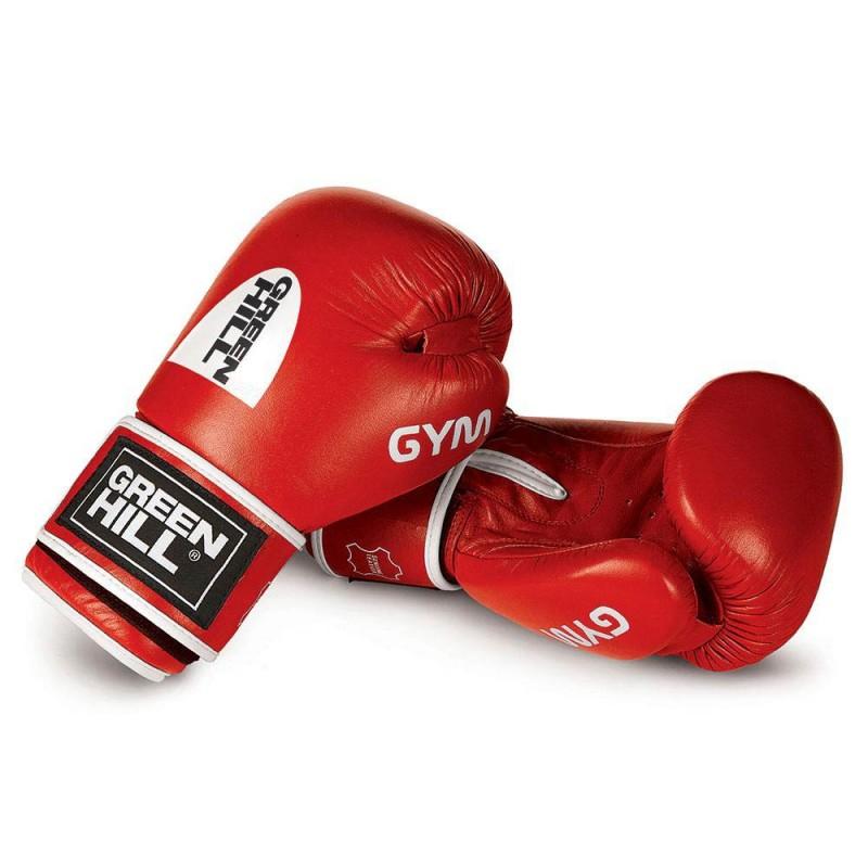 Green Hill GYM Boxhandschuhe rot