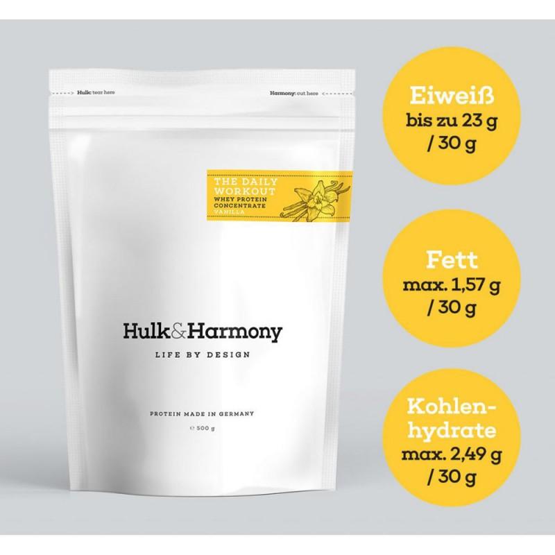 Hulk and Harmony WPC Erdbeere 500g
