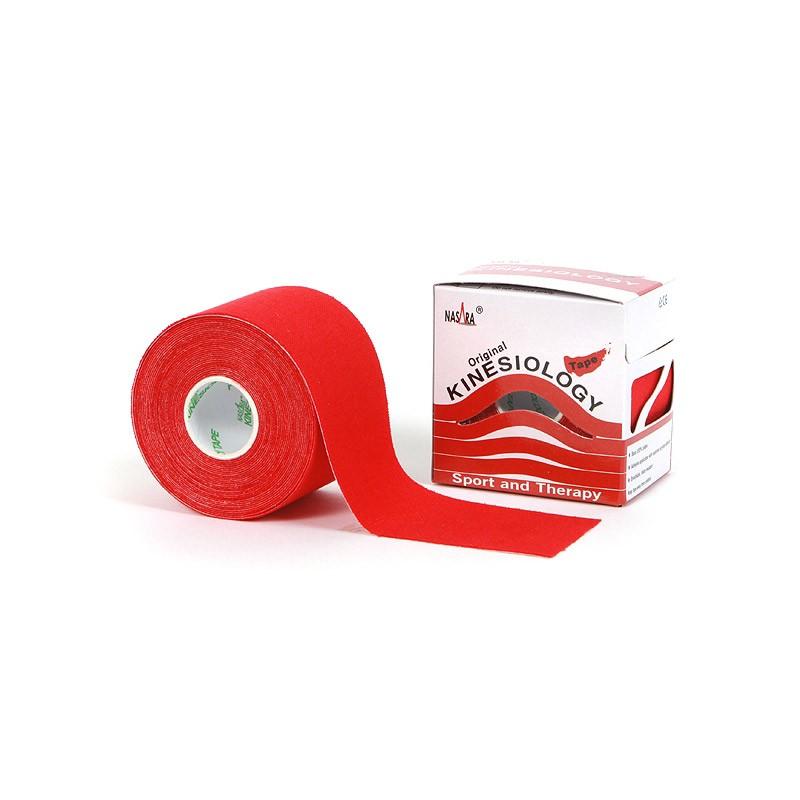 Nasara Kinesiologie Tape rot 5cm x 5m