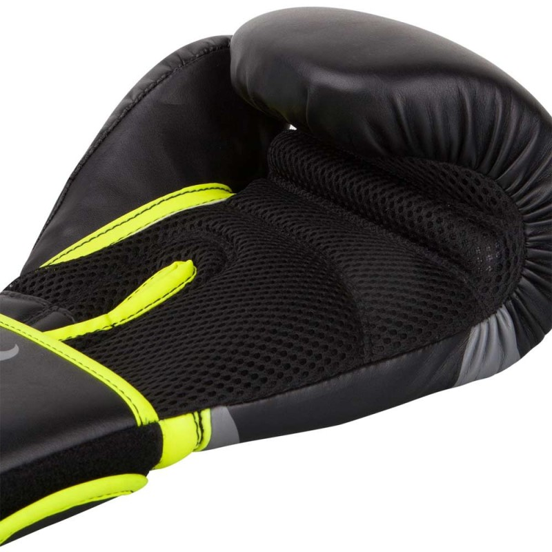 Ringhorns Charger Boxing Gloves Black Neo Yellow