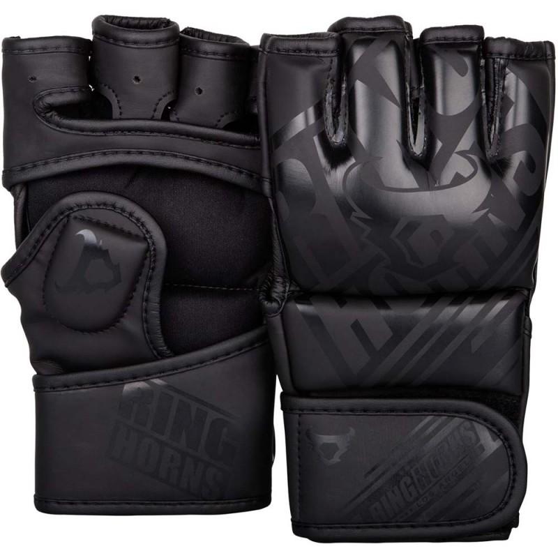 Ringhorns Nitro MMA Gloves Black Black