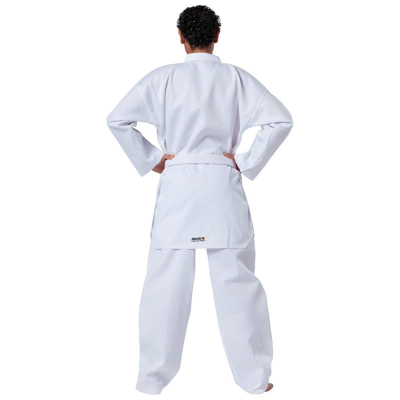 Kwon Starfighter Taekwondo  Anzug Weiss Revers weiss