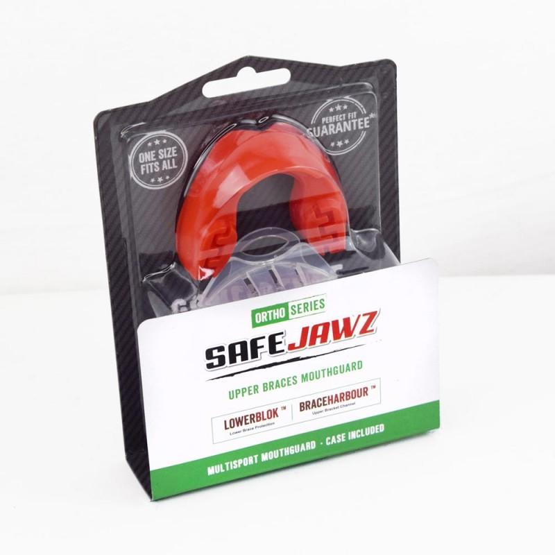 Safe Jawz Ortho Series Zahnspangen Zahnschutz Red