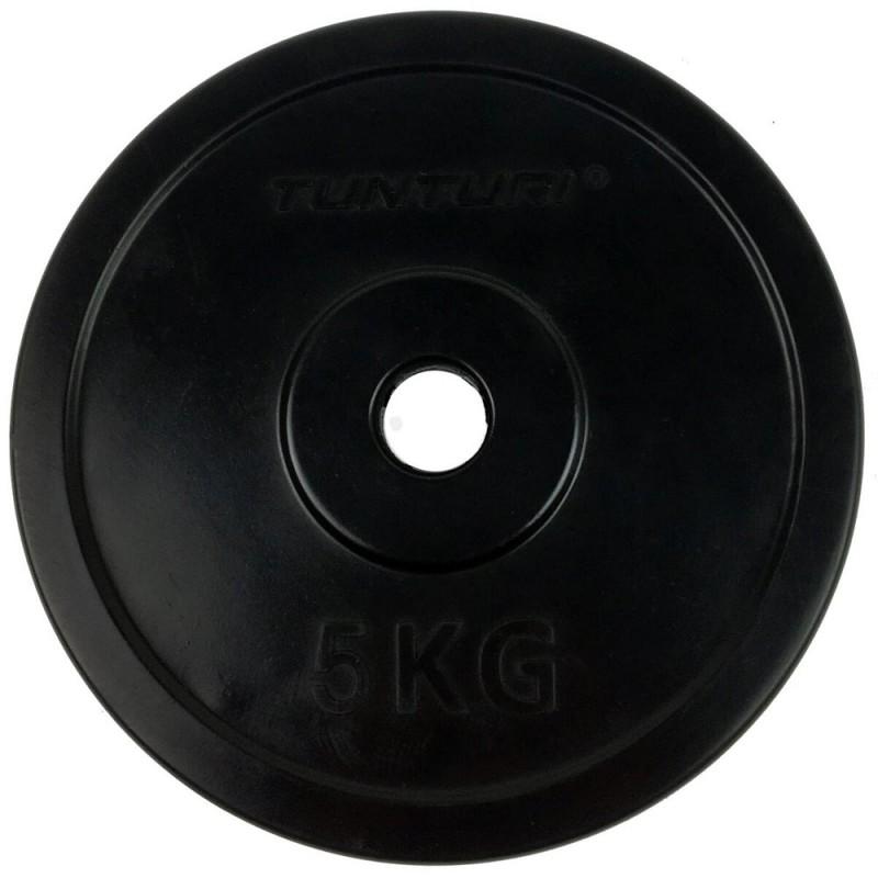 Tunturi Gummi Gewichtsscheibe 5.0kg