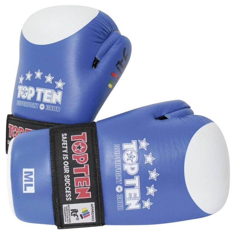 Top Ten Superfight 3000 ITF Open Hands Blau