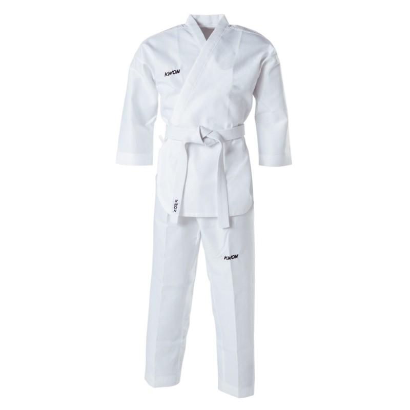 Kwon Poomsae Taekwondo Anzug weiss