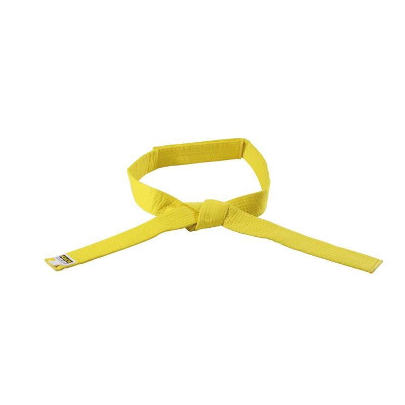 Kwon Clubline Klett Gürtel für Kinder gelb