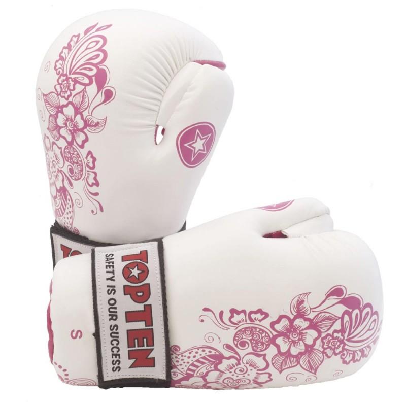 Top Ten Flowers Point Fighter Weiss Pink