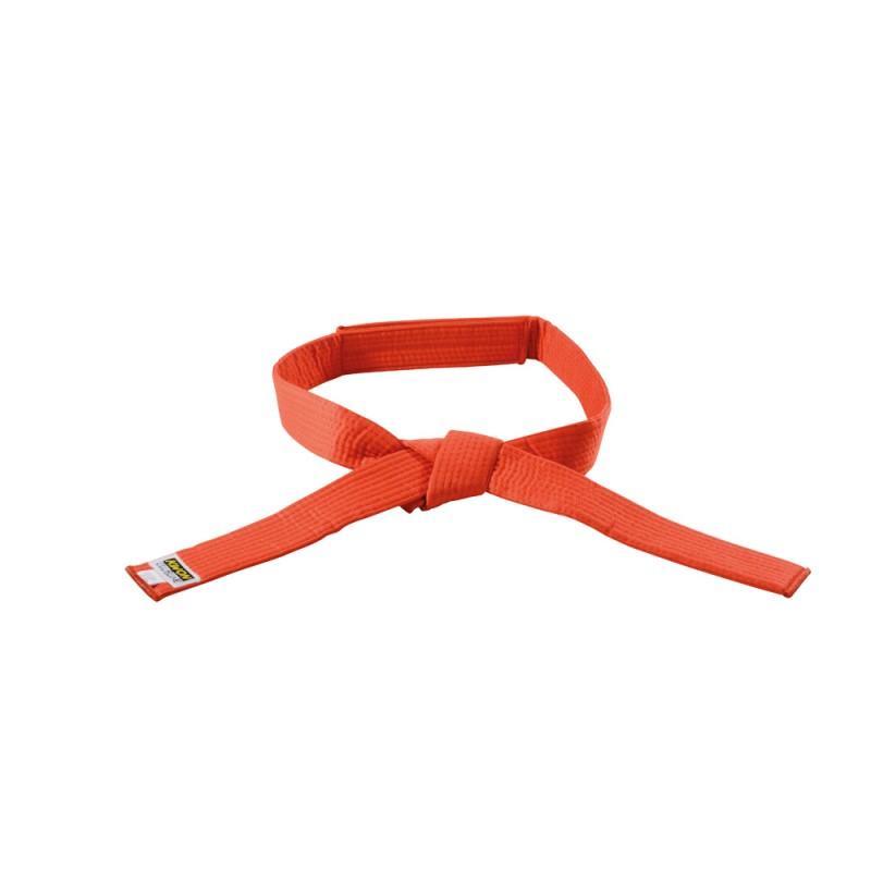 Kwon Clubline Klett Gürtel für Kinder orange