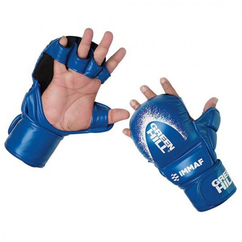 Green Hill IMMAF Approved MMA Glove Blau