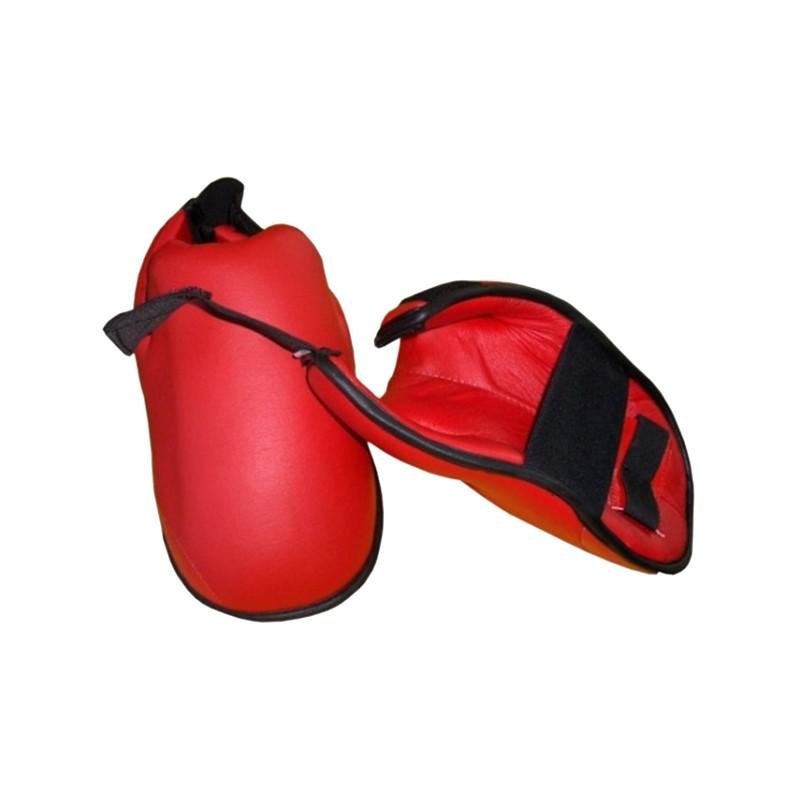 Simple Karate Fussschoner Rot