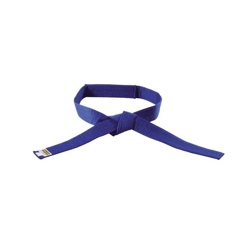 Kwon Clubline Klett Gürtel für Kinder blau