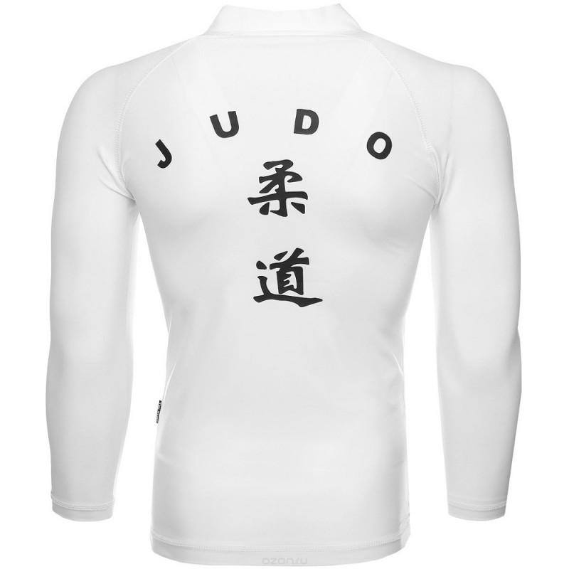 Green Hill Judo Rashguard LS Weiss