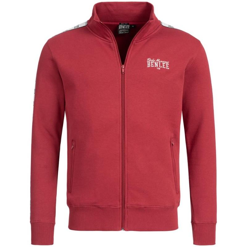 Benlee Sweat Jacket Cuningham Dark Red
