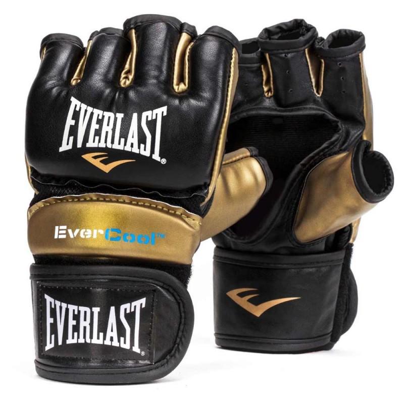 Everlast Everstrike Training Glove Black Gold