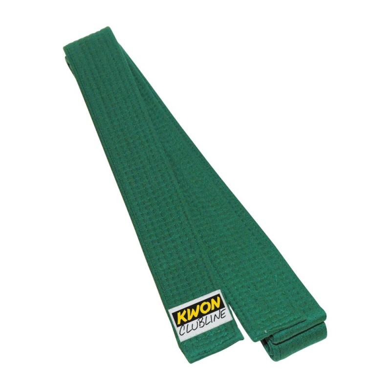 Kwon Clubline Softgürtel 4cm grün