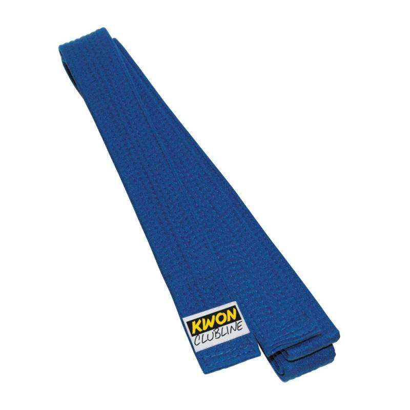 Kwon Clubline Softgürtel 4cm blau