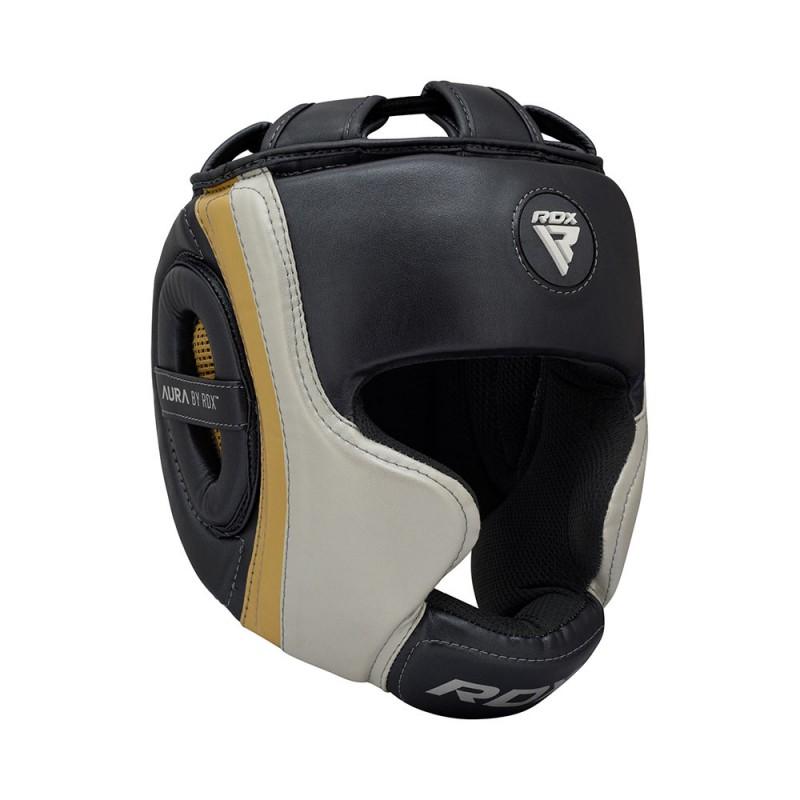 RDX Kopfschutz Aura T-17 golden