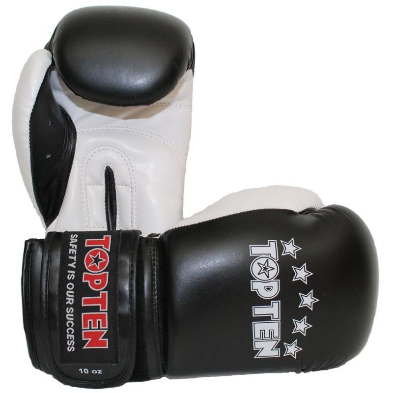 Top Ten NK II Boxhandschuhe Schwarz