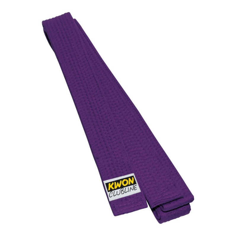 Kwon Clubline Softgürtel 4cm violett