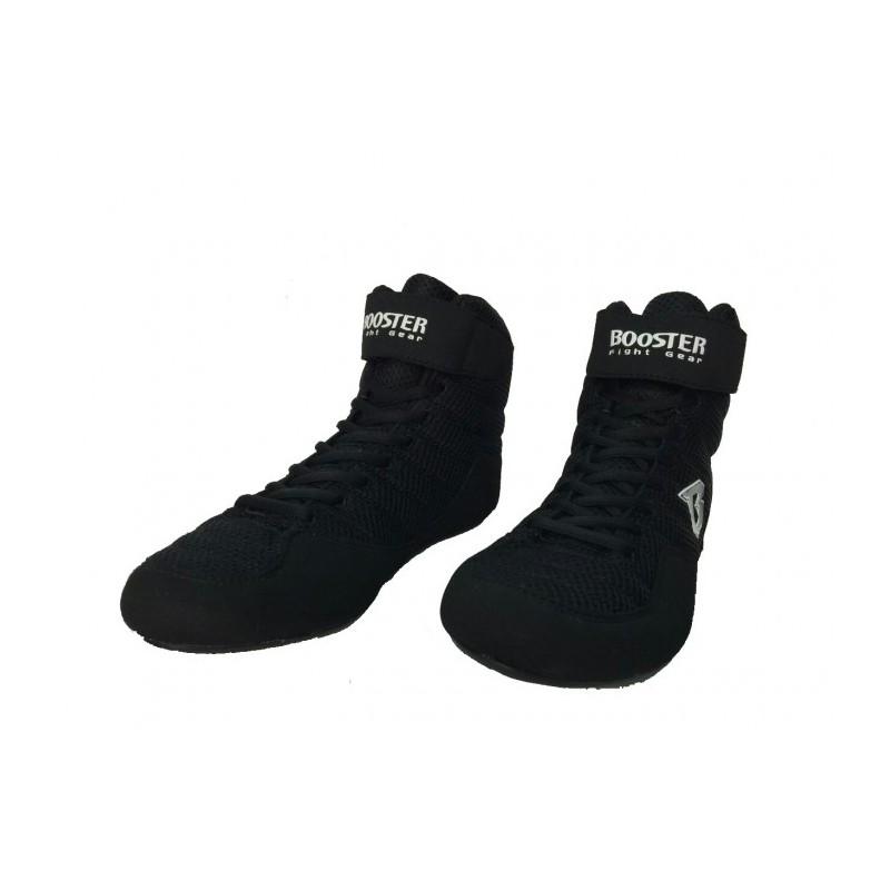 Booster Combat Shoe Black