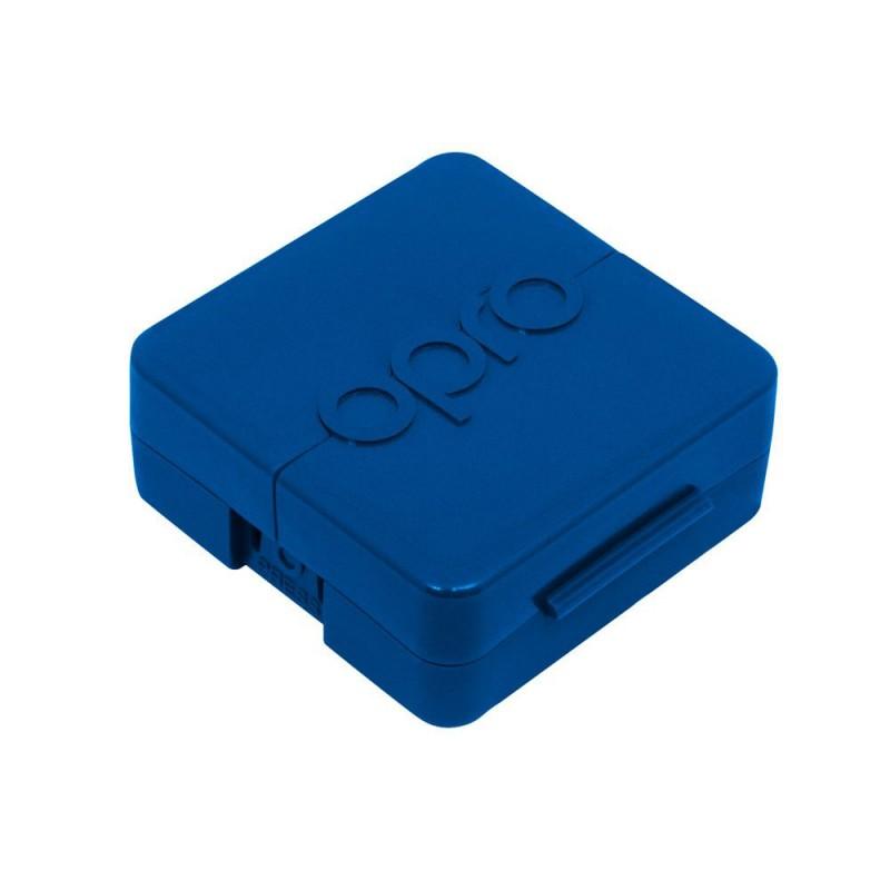 Opro Zahnschutzdose blau