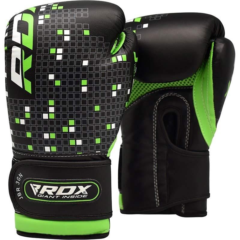 RDX Boxhandschuh Kids schwarz grün