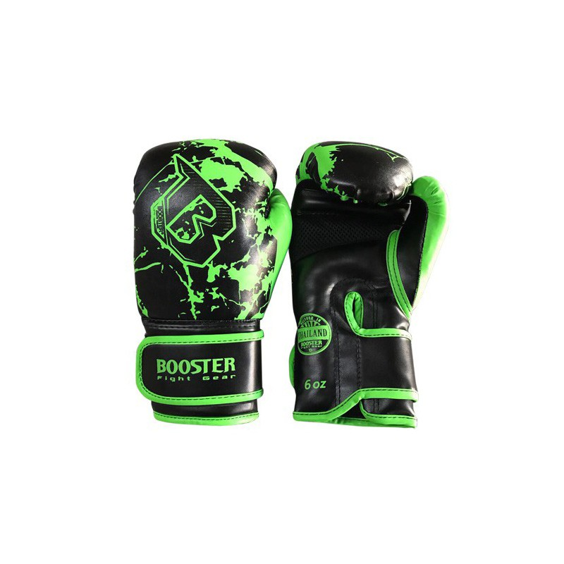 Booster Youth Marble Green Boxing Gloves