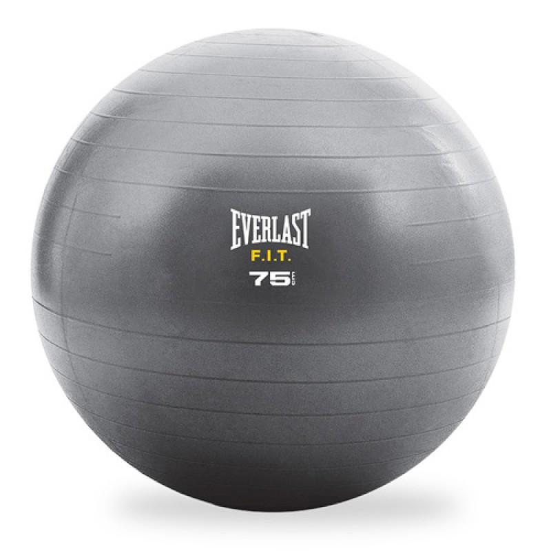 Everlast Gymnastikball 75cm Grau