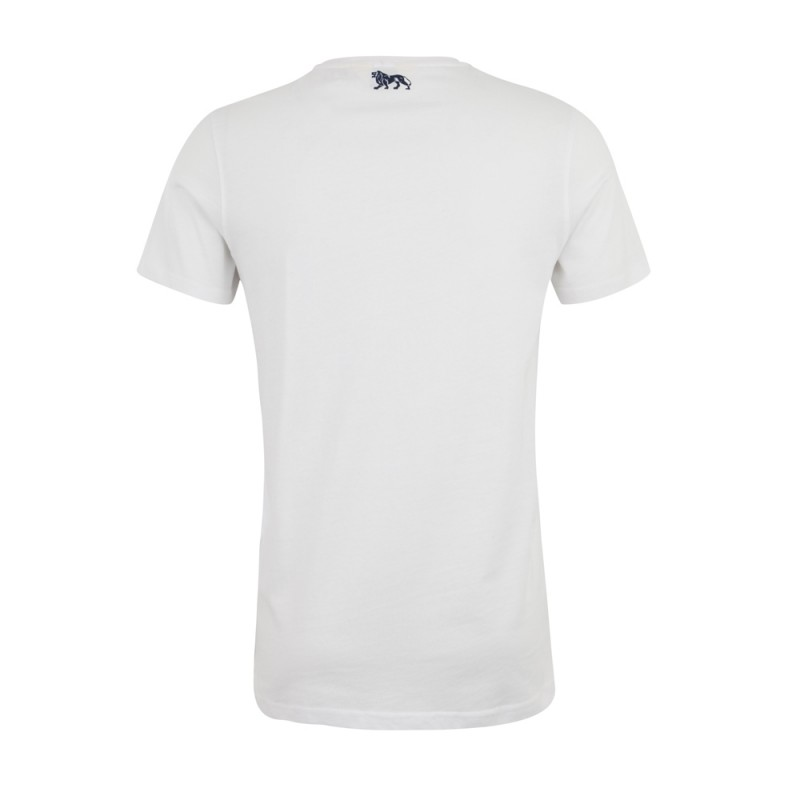 Lonsdale Creaton Herren T-Shirt Slim Fit White