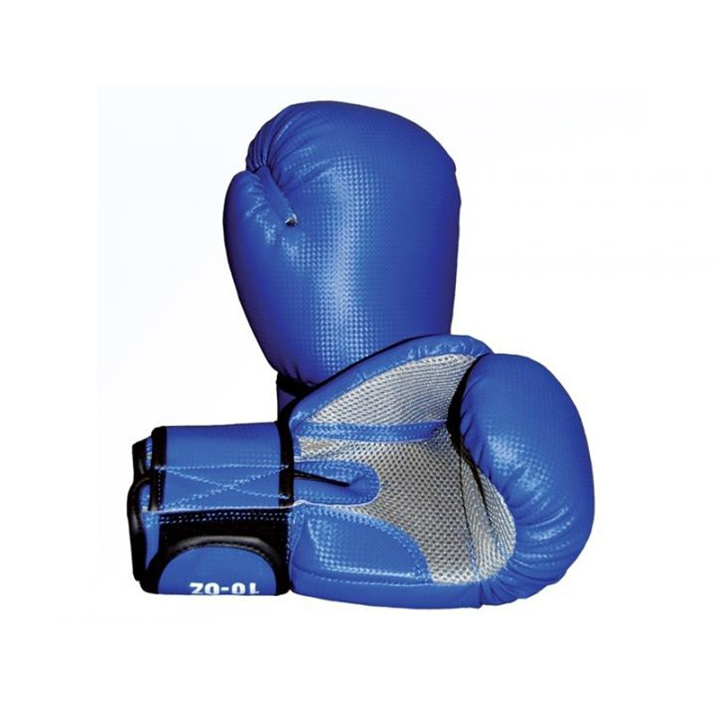 Phoenix Carbon Optic Blau Grau Mesh Boxhandschuhe