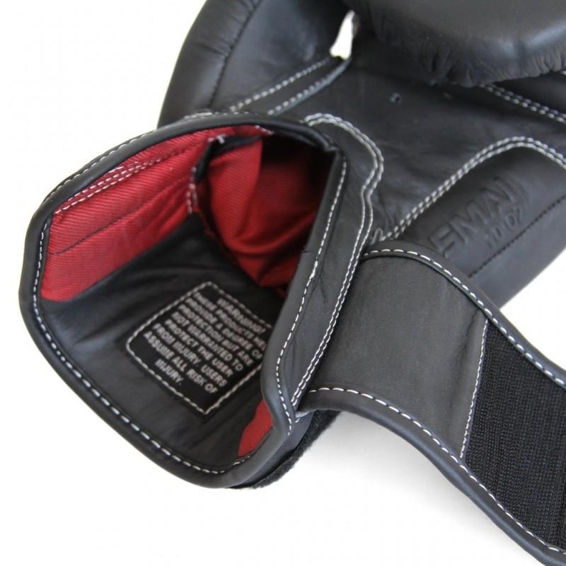 SMAI Elite P85 Boxhandschuhe Leder schwarz