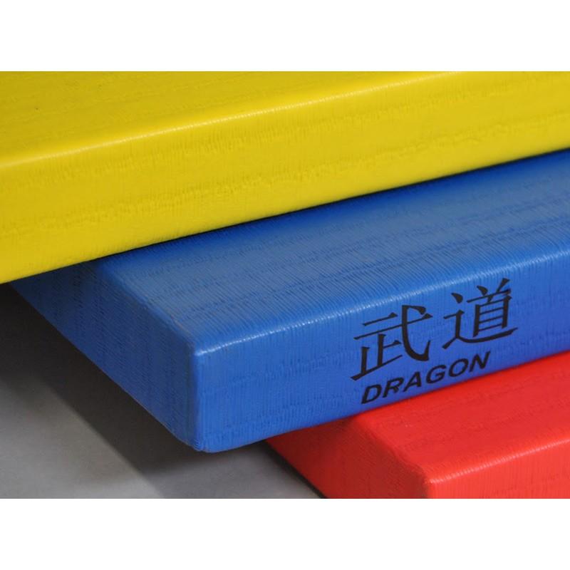 Phoenix Judomatte Dragon 100x100x4 cm Grau