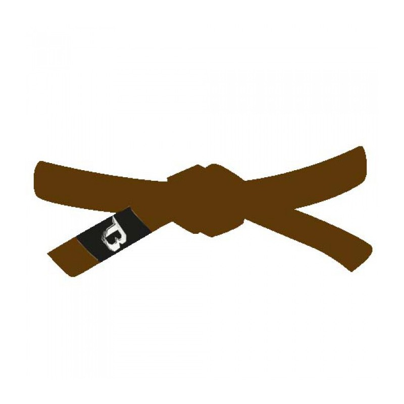Booster BJJ Belt Brown