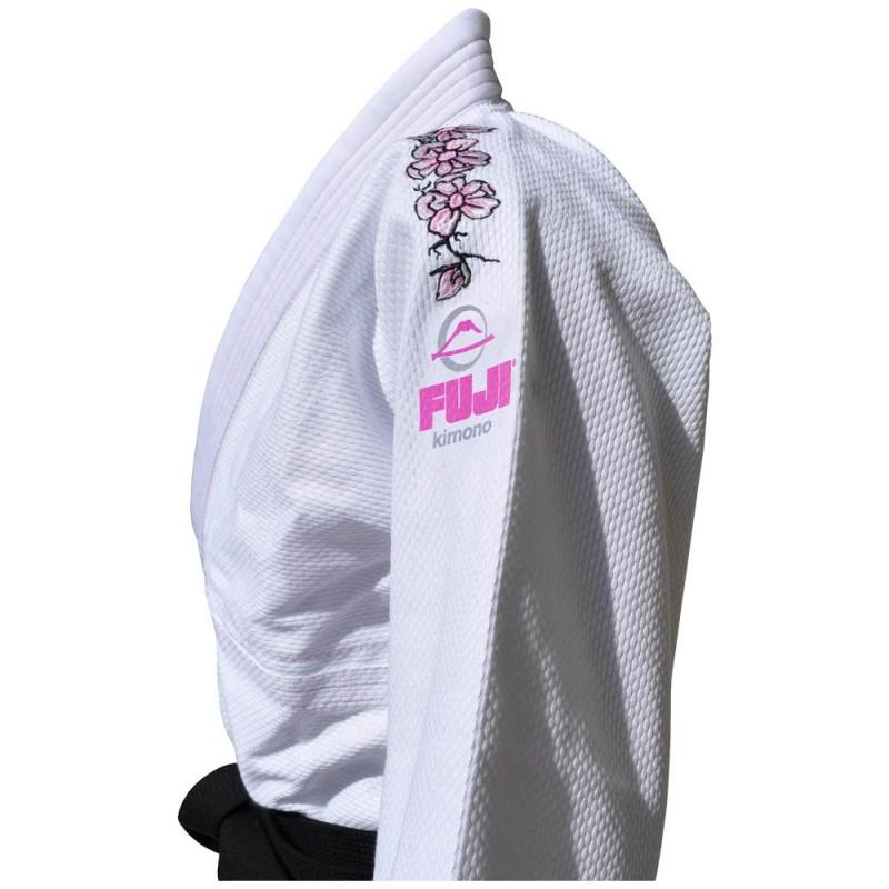Fuji Blossom BJJ Gi White Women