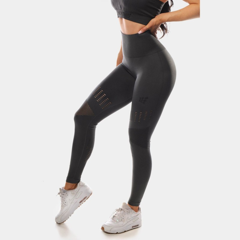 Jed North Willow Leggings Charcoal Grey