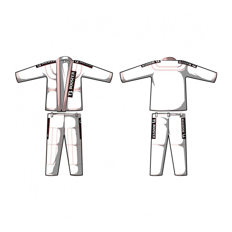 Booster BJJ Suit Standard White