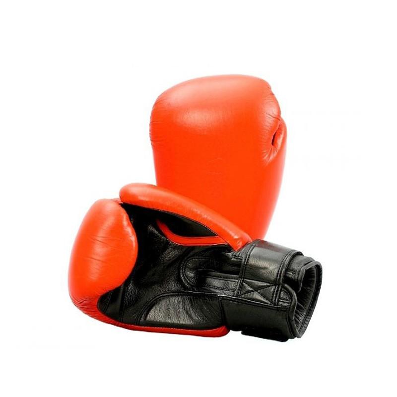 Phoenix Top Modell Leder Rot Boxhandschuhe