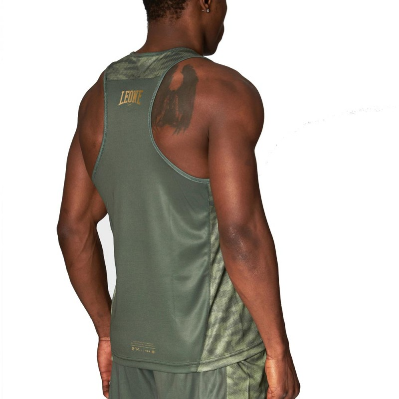 Leone 1947 Boxerhemd Extrema 3 grün