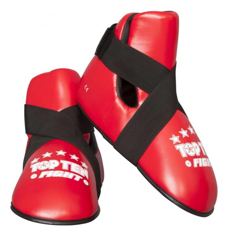 Top Ten Fight Fussschutz Rot