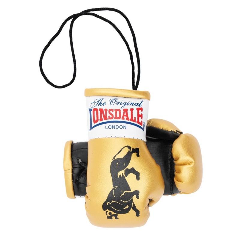 Lonsdale Promo Mini Boxhandschuhe Gold