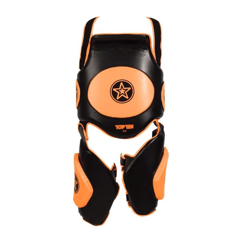 Top Ten Bodyguard Xtra Trainingsset Schwarz Orange