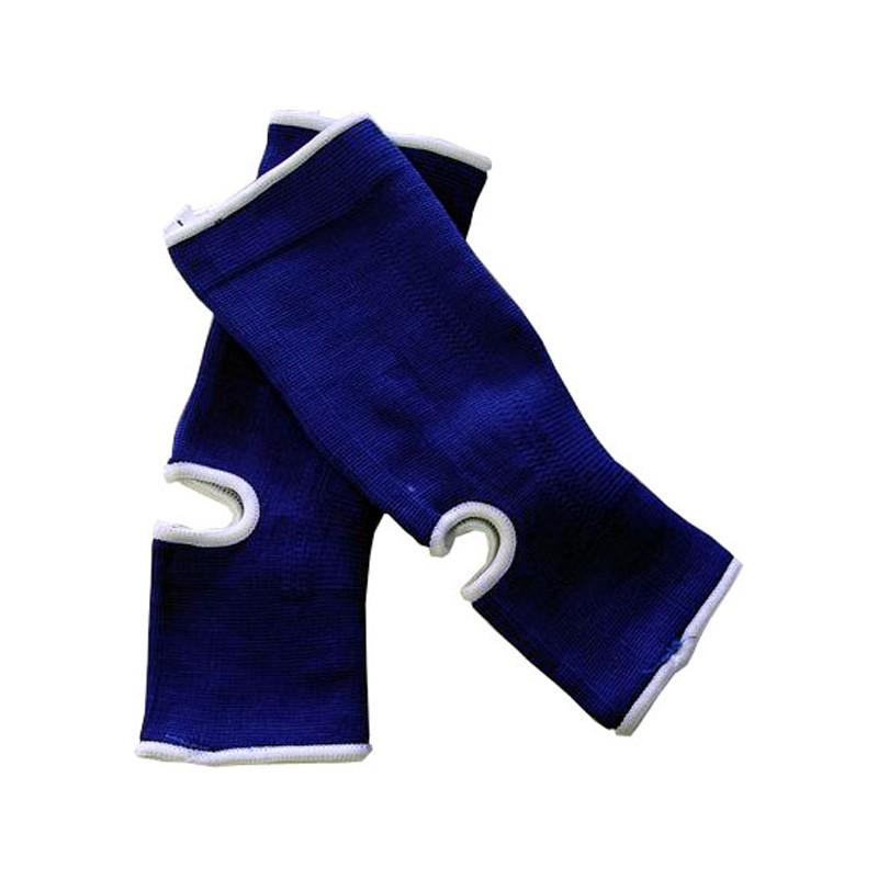Achillessehnen Knöchelschoner Blau Weiss