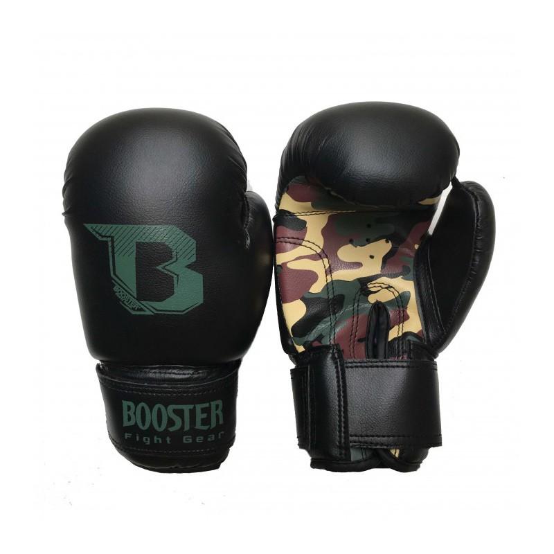 Booster BT Kids Duo Boxing Gloves Camo Skintex