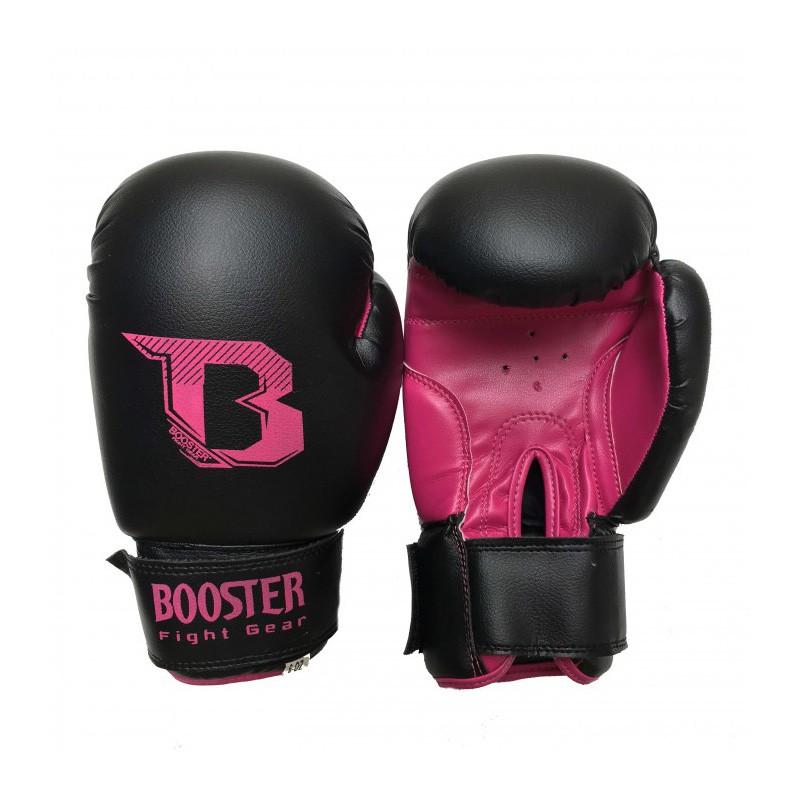 Booster BT Kids Duo Boxing Gloves Neon Pink Skintex