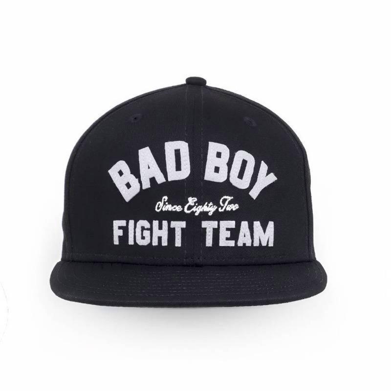 Bad Boy Fight Team Snapback Cap Black