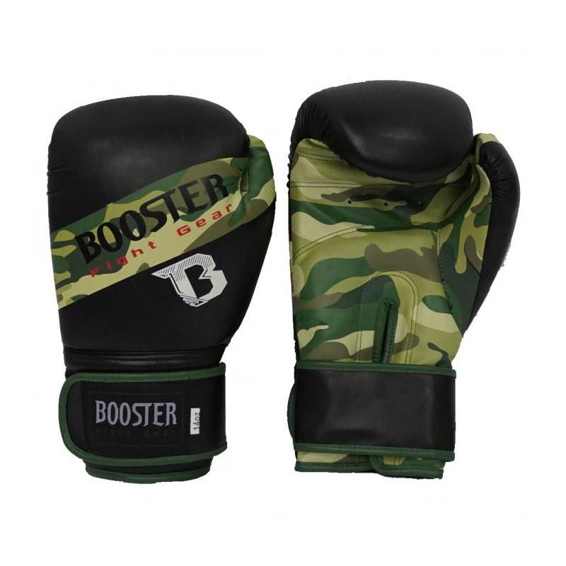 Booster BT Sparring Gloves Camo Stripe PU