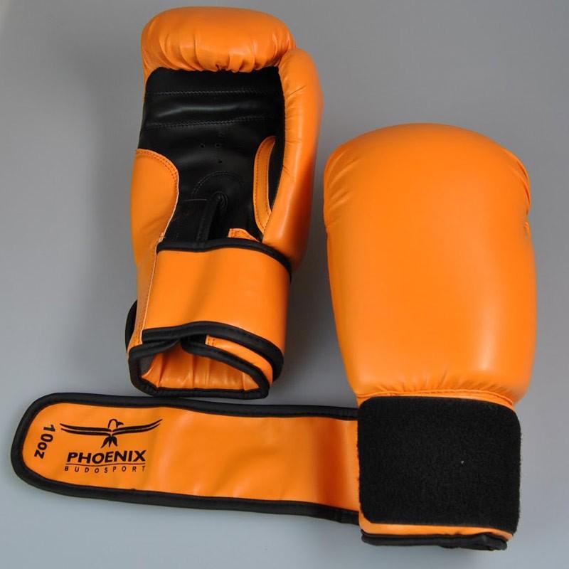 Phoenix Life Boxhandschuhe PU Orange Schwarz