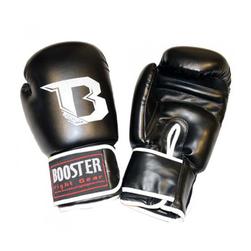 Booster BT Kids Boxing Gloves Black 8-10oz PU