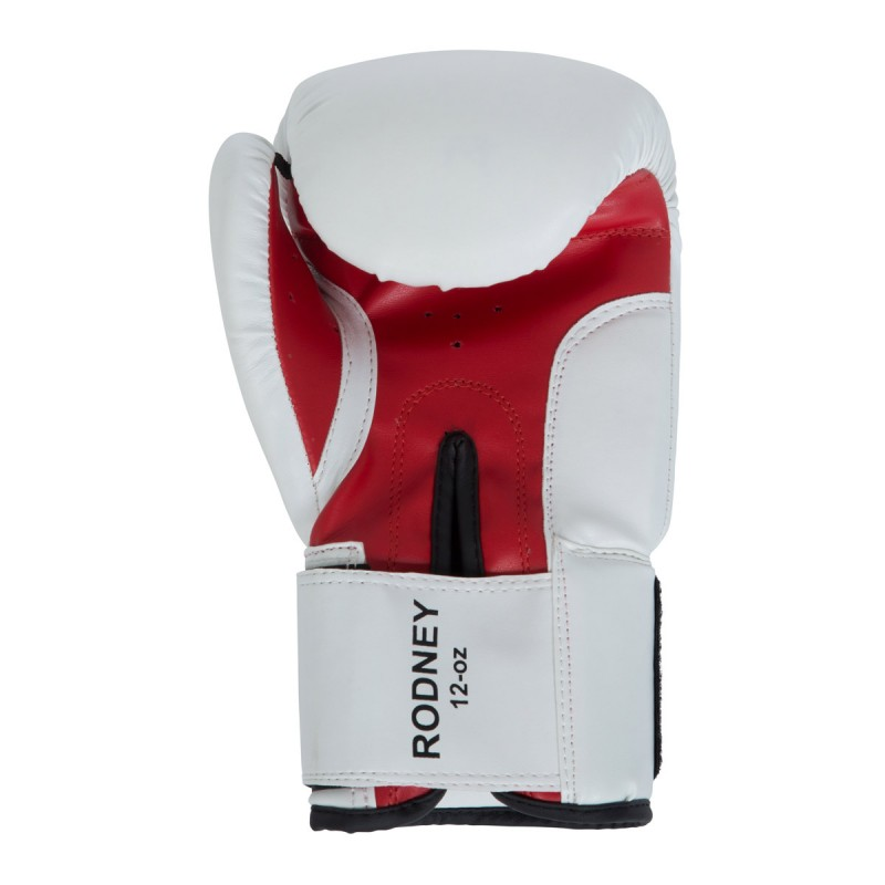 Benlee Artif. Leather Boxing Gloves Rodney White Red